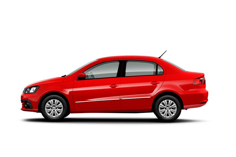 Renta en el eropuerto de cancun un VW Gol Sedan (Aut)