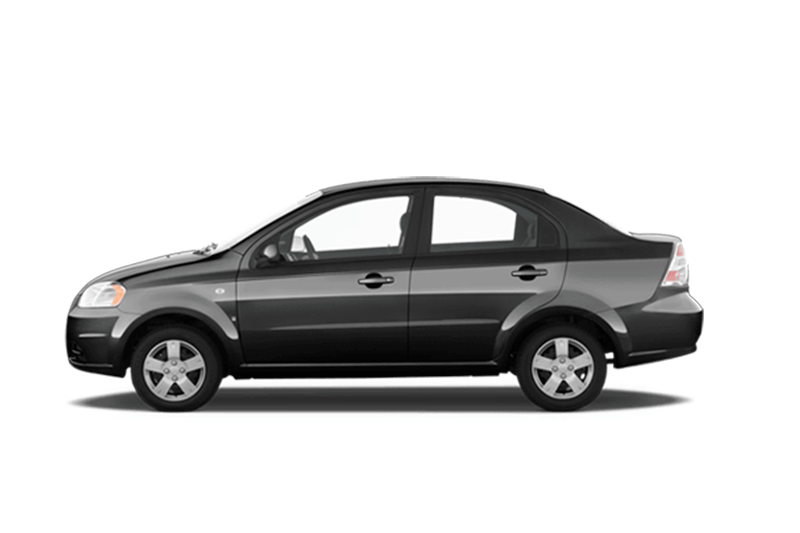 Chevrolet Aveo (Manual) para rentar auto en cancun